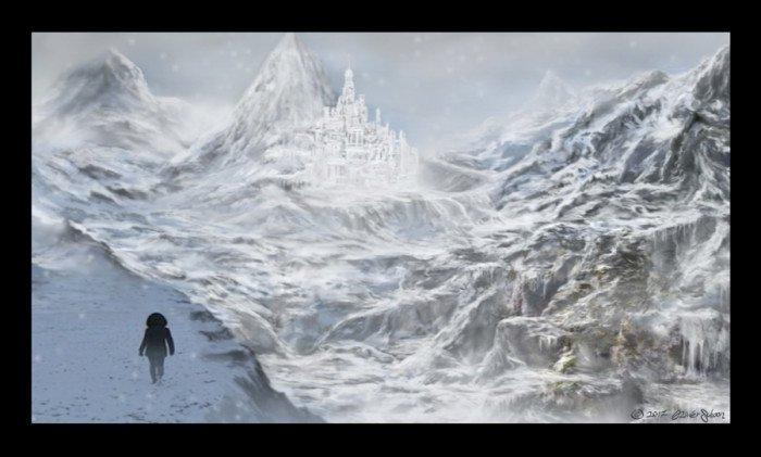 Iceworld Matte Painting