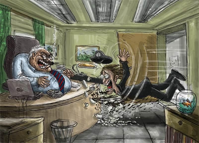 Büroreinfall beim Spediteur Schallinger