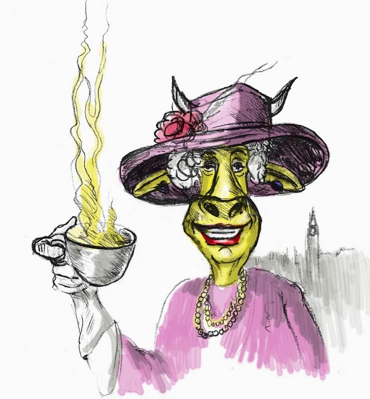 Die Queen lädt ein zum Tee