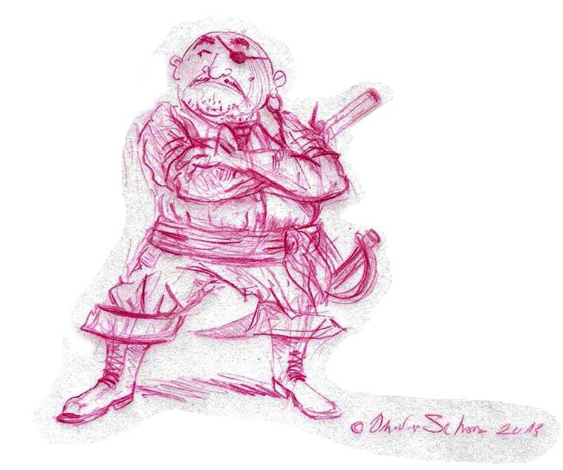 Dicker Pirat
