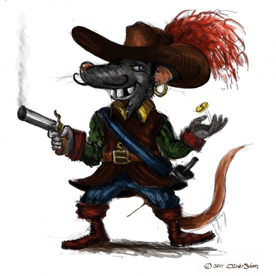 Die Ratte bittet zum Duell