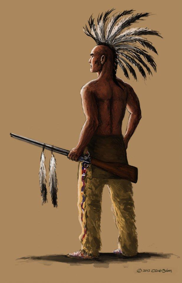 Indianerkrieger