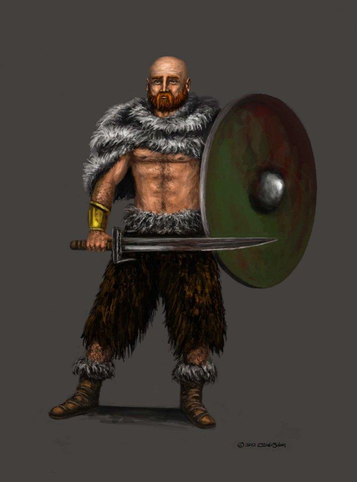 Nordischer Schwertkämpfer